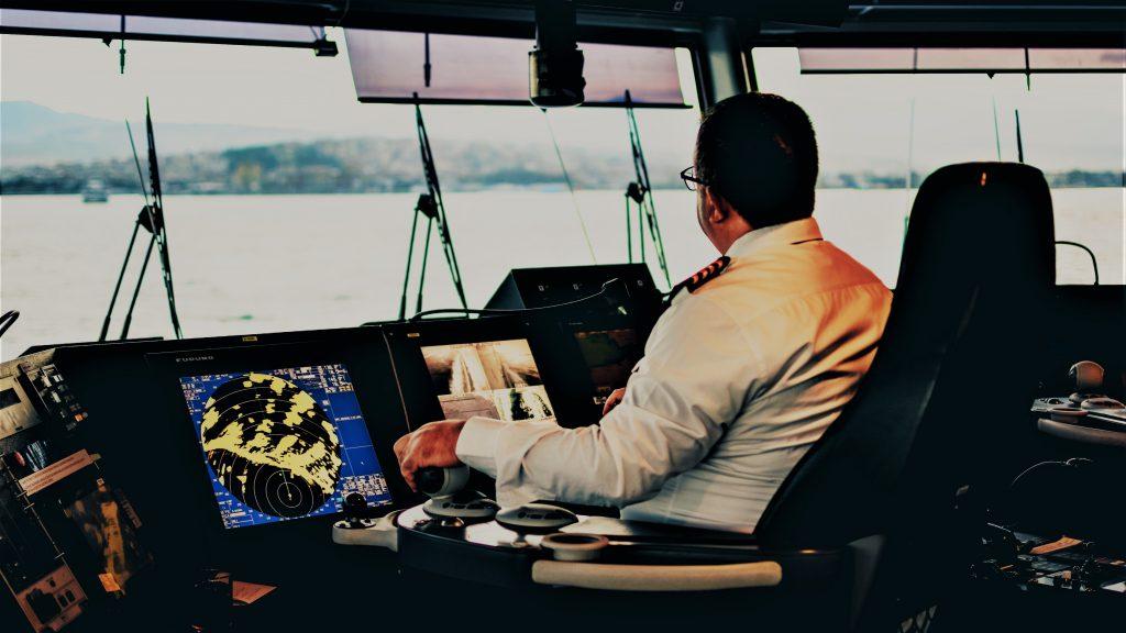 חדר הפיקוד באונייה