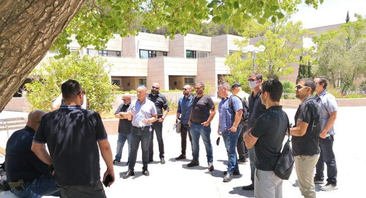 הגילדה - הבית של מנהלי הביטחון / סיור שטח - האוניברסיטה העברית